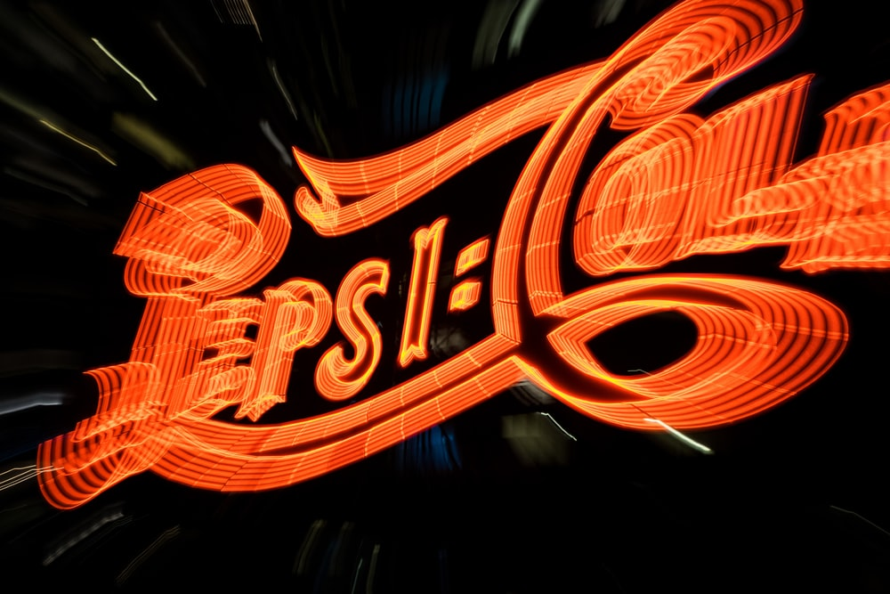 Pepsi-Cola neon sign