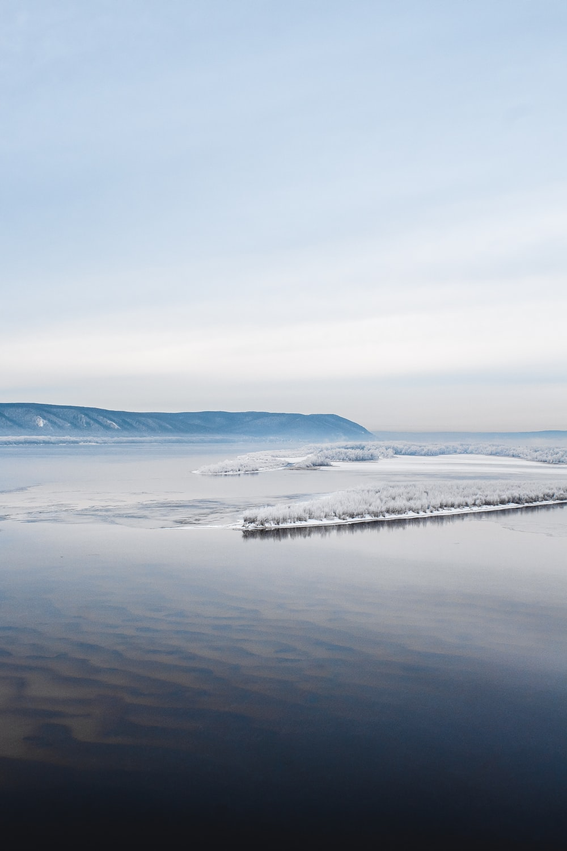 ice land view during daytime