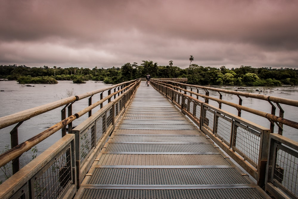 brown bridge
