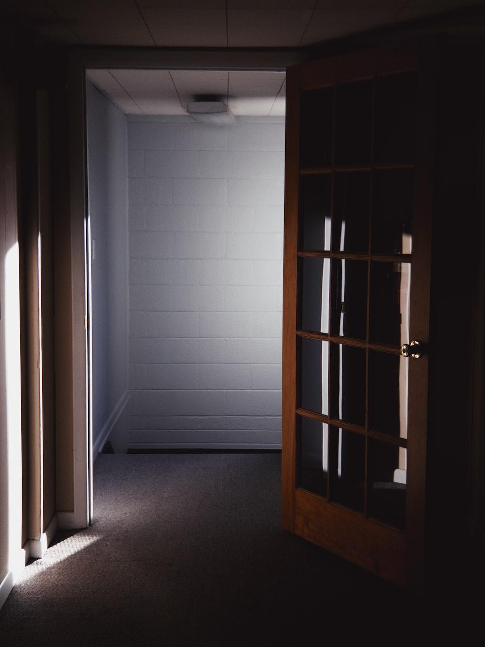 sunlight passing through open door