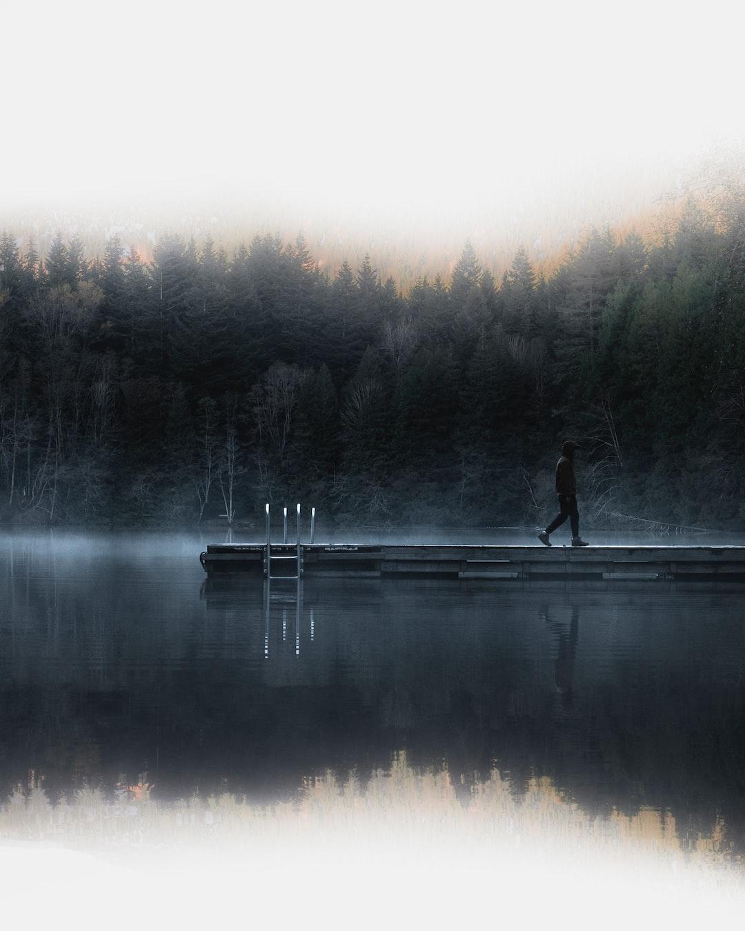 Canadian foggy day