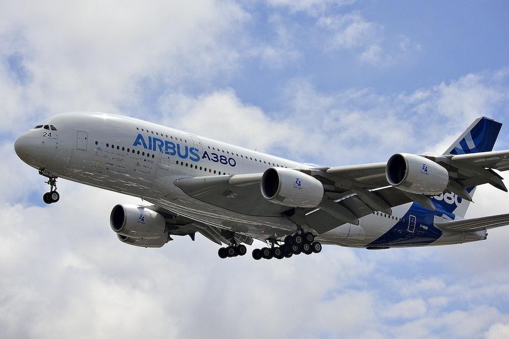 Airbus A380 airplane