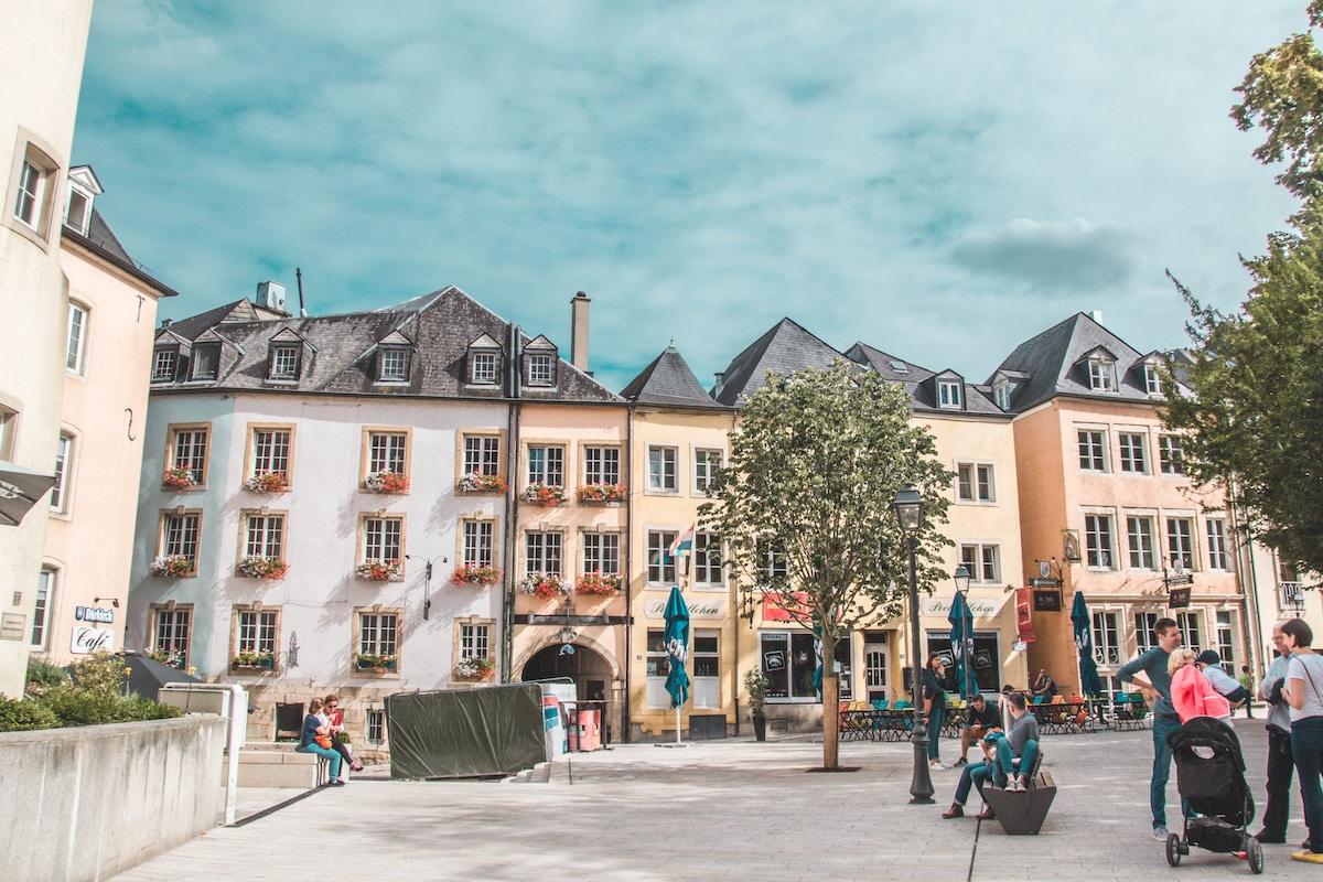 Luxembourg, Place du Théâtre