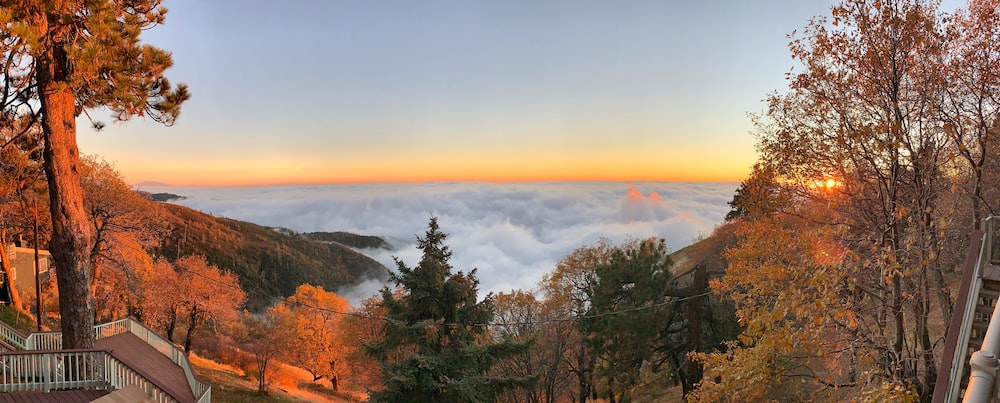 sea of clouds view