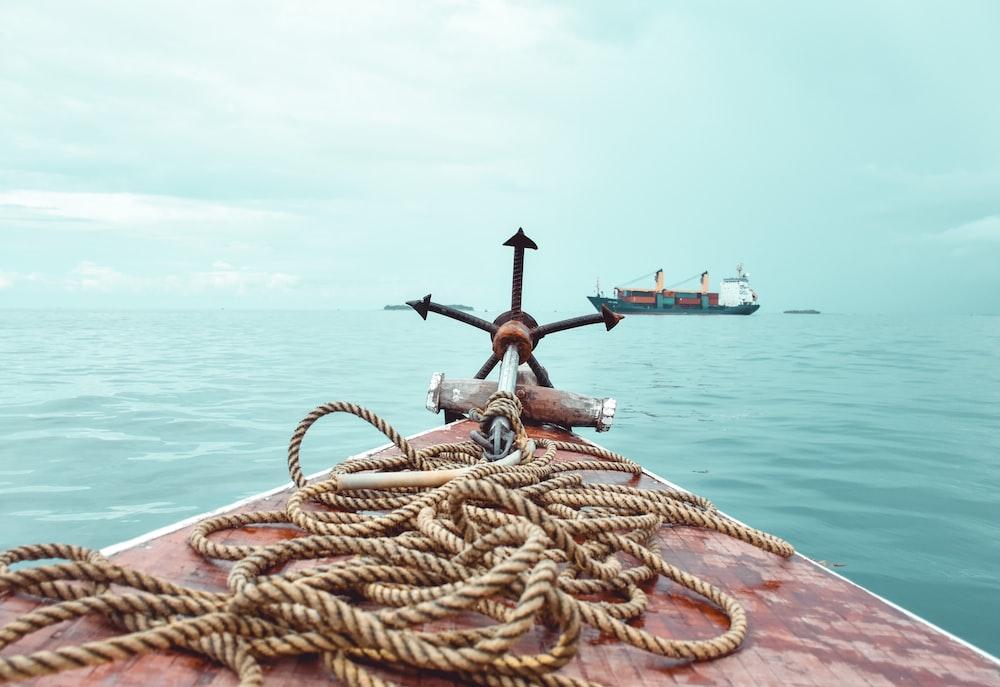 brown anchor