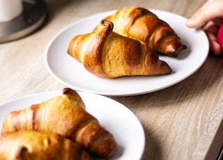 four croissant bread