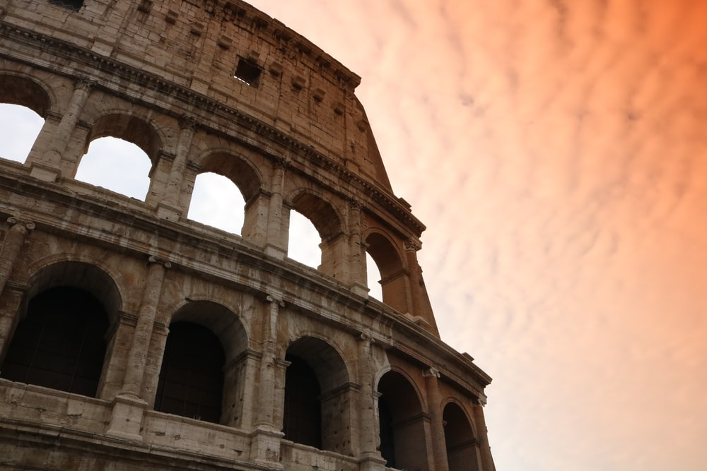 low angle photography of The Colosseum at daytime