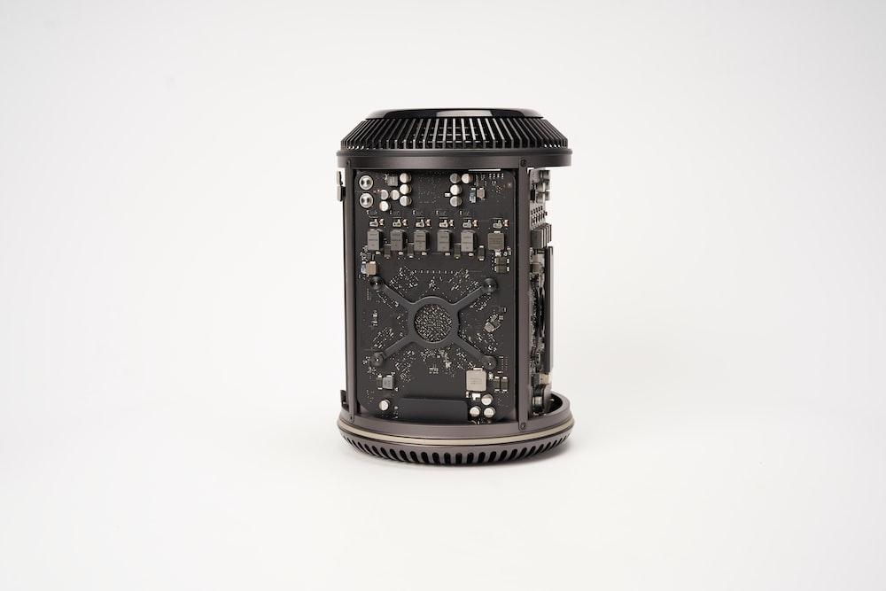 black bluetooth speaker
