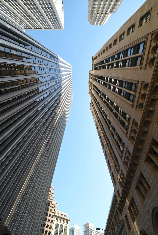 beige coated building