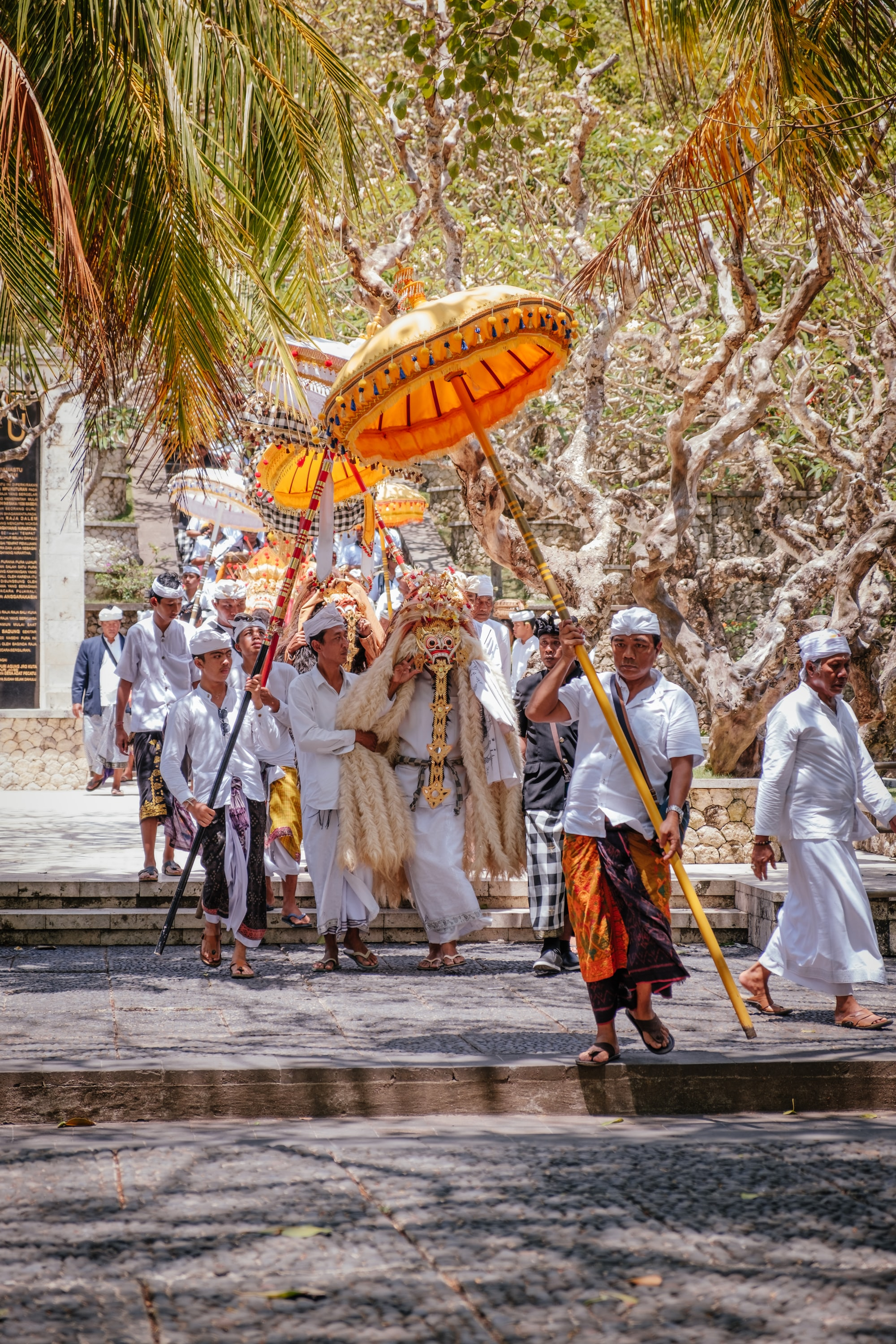 In Bali a large majority of the population practice a form of Hinduism. Diwali, the Hindu festival of lights, is the occasion for people to gather and celebrate.