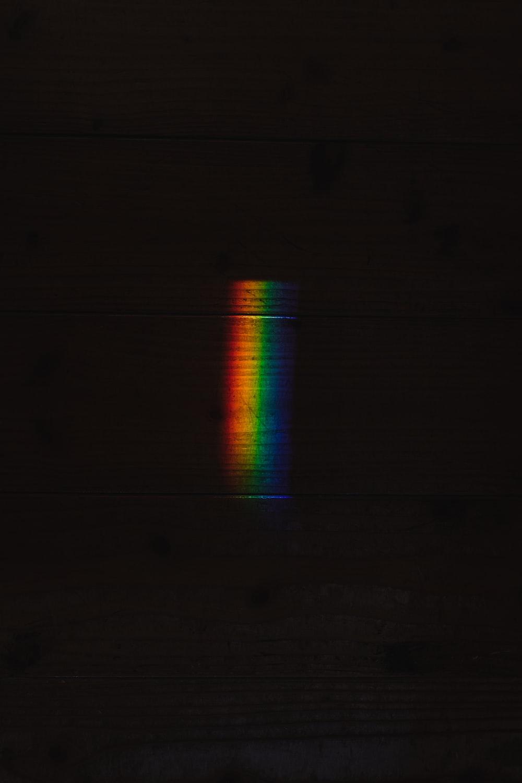 black and green LED light