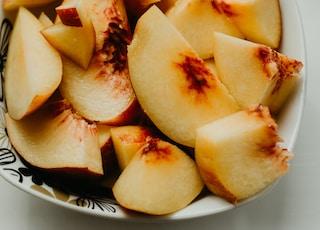slice pear fruit