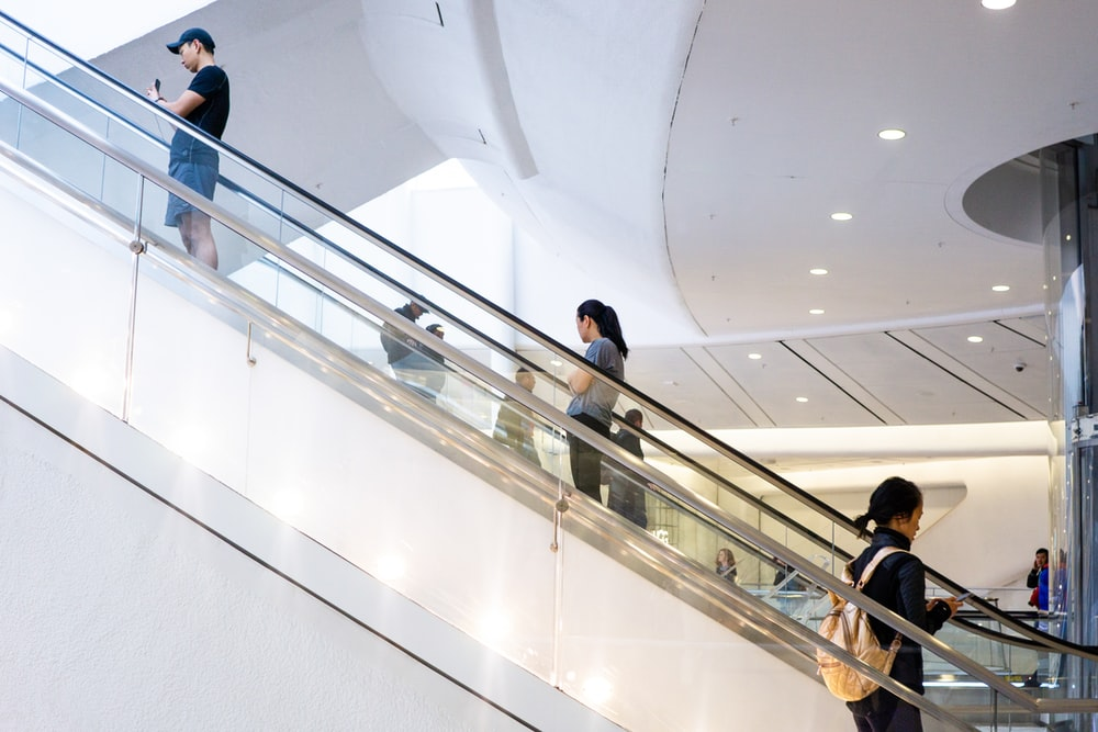 picture of escalator