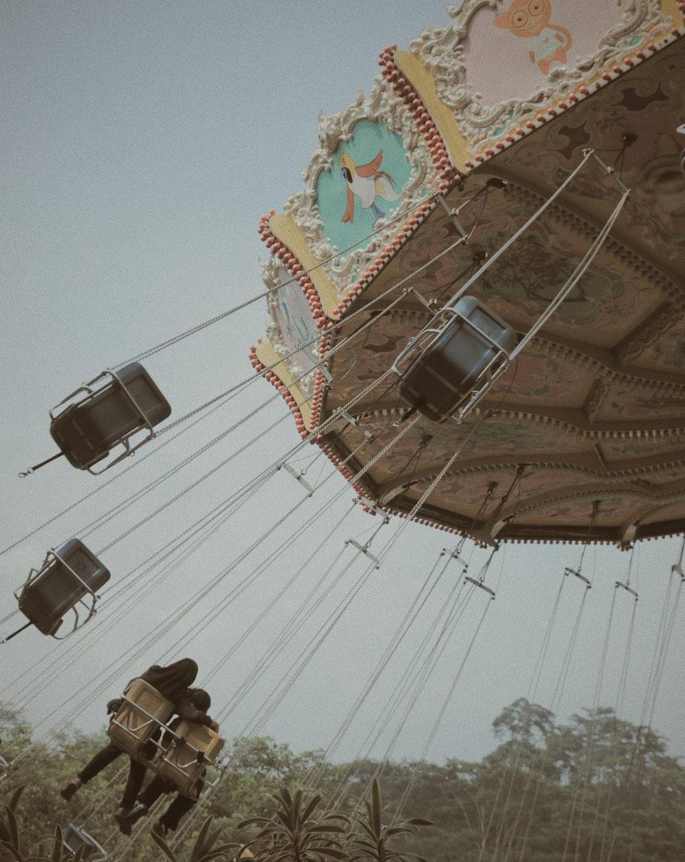 brown swing
