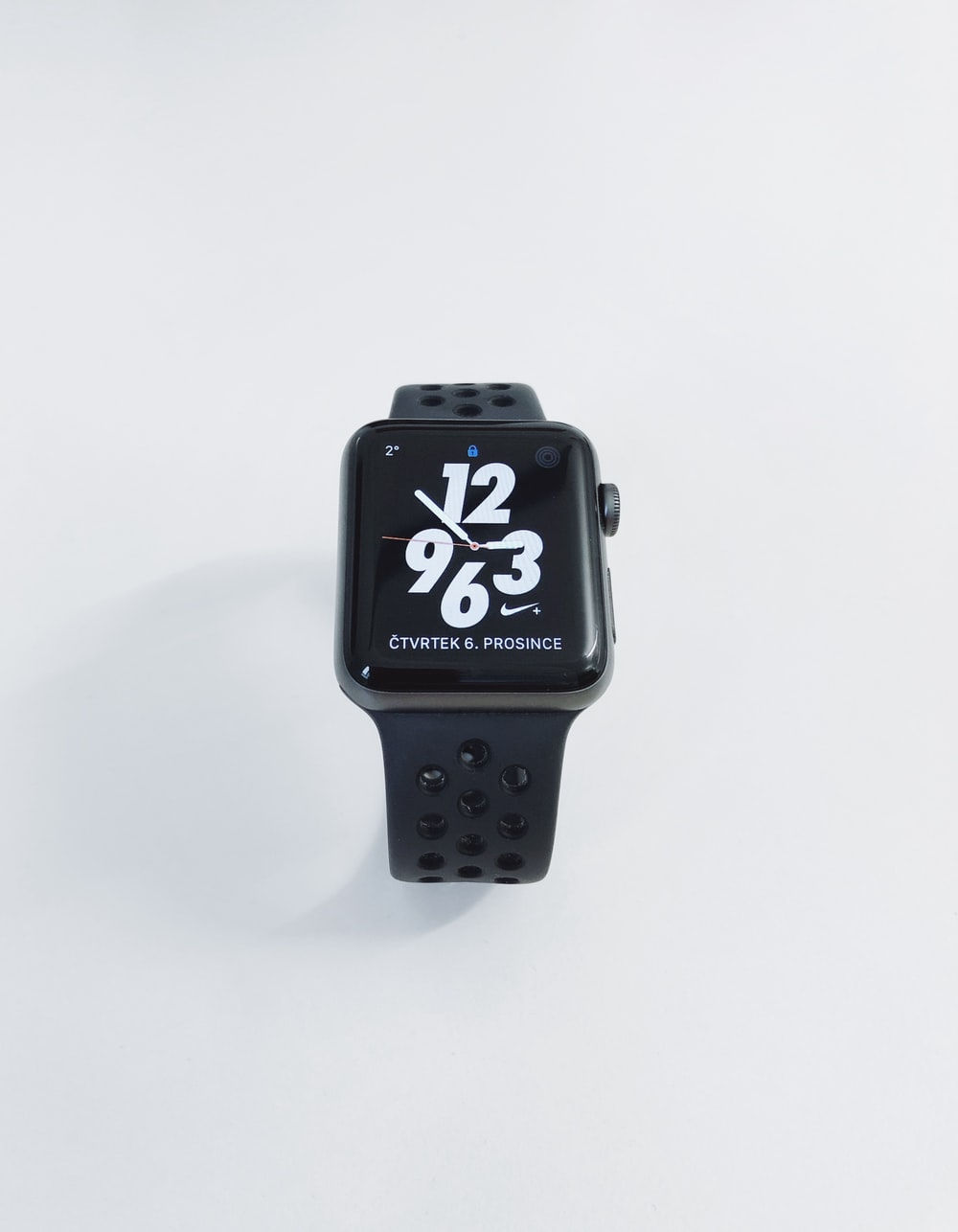 Apple Watch at 3:58