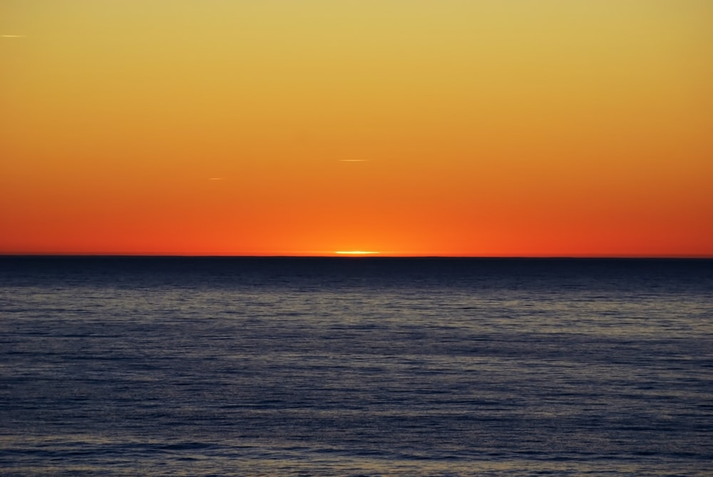 landscape photography of sunrise by the beach