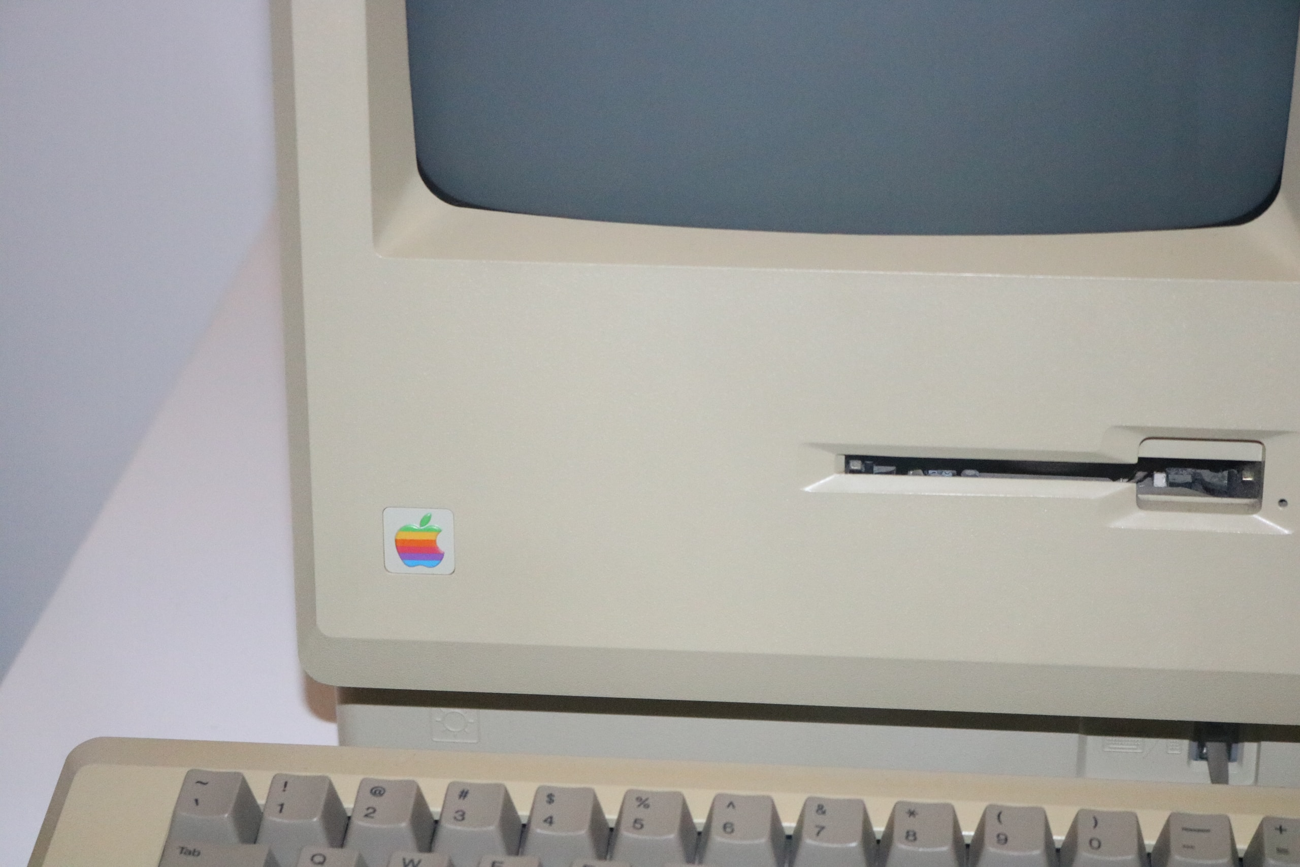 turned off Macintosh