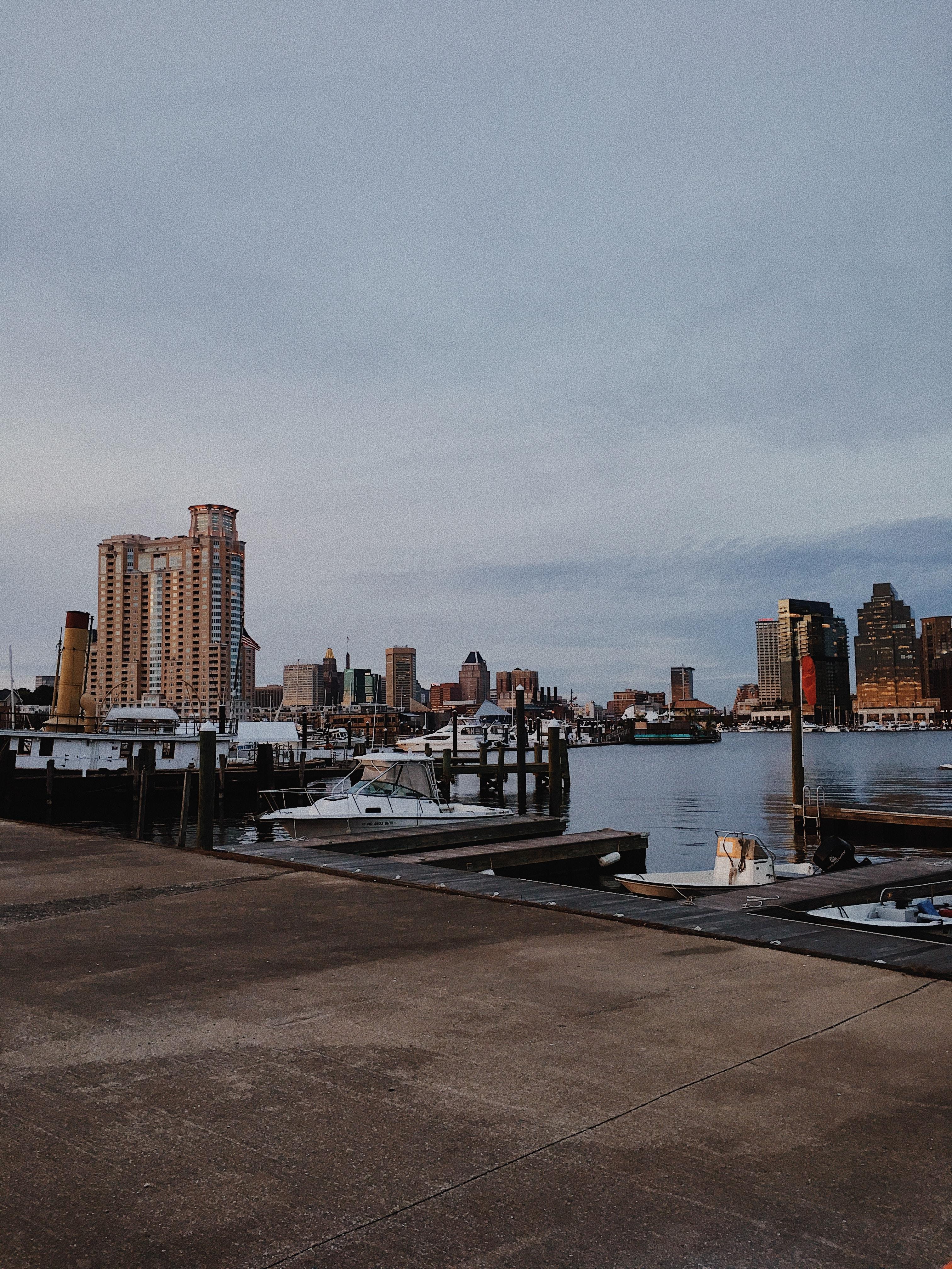 brown ship port