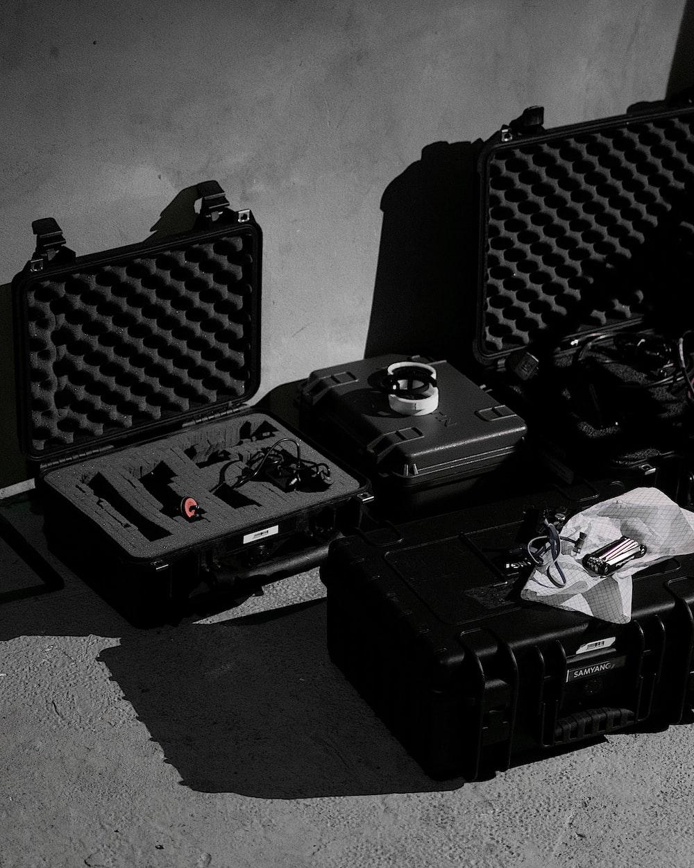 black hard cases