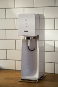 white and gray home appliance