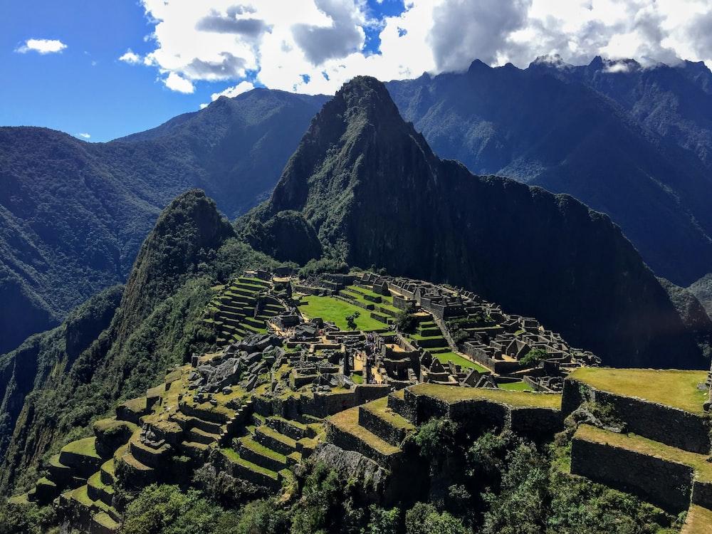 Machu Picchu during daytime