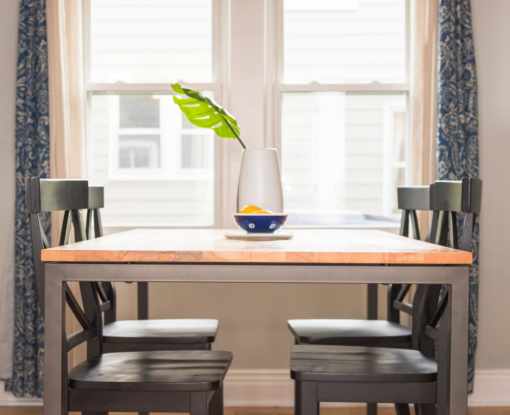 How Should Your Dining Room Interior Design Be Like Brown Wooden Table With Chairs