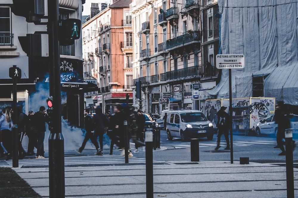 busy street
