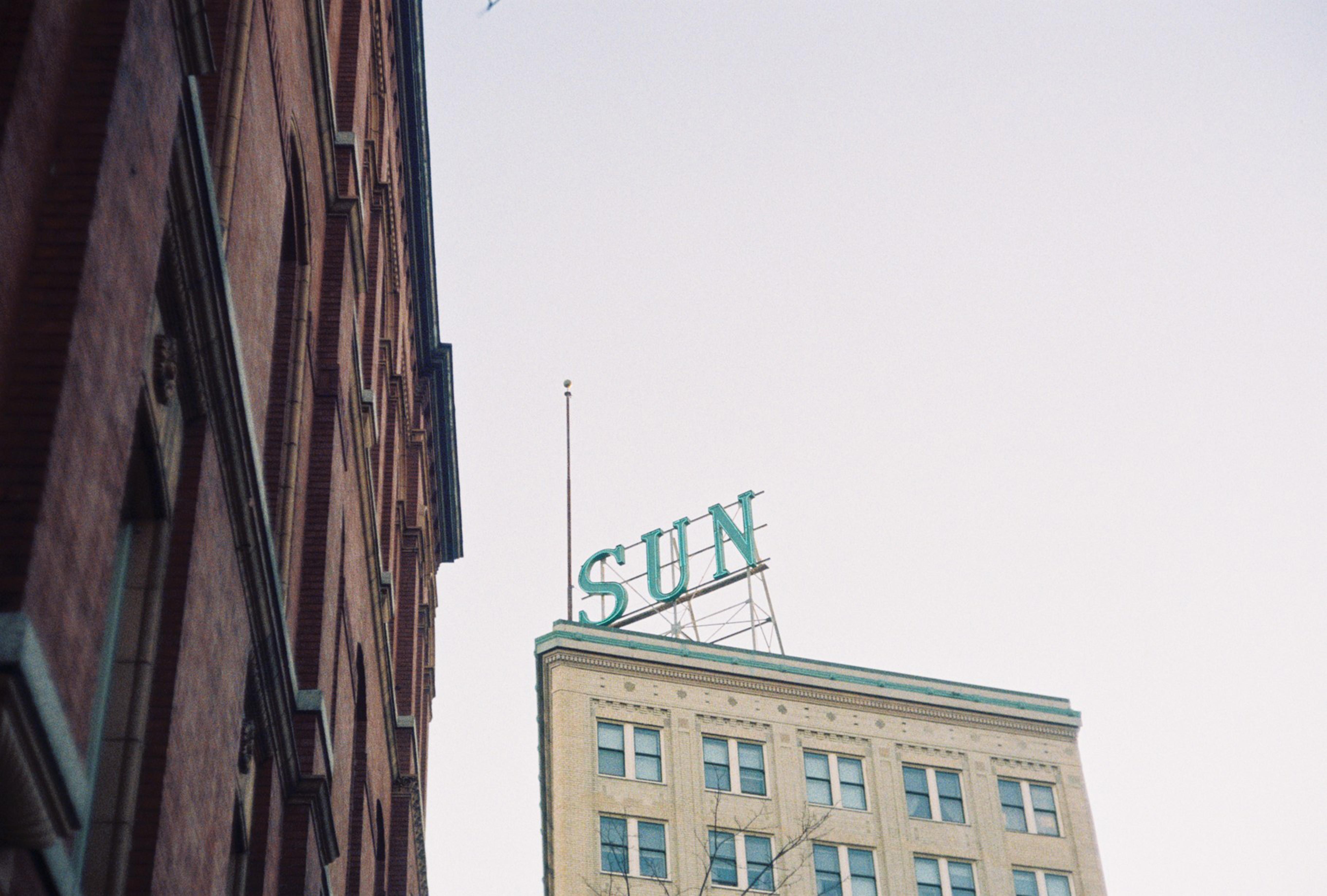 Sun signage