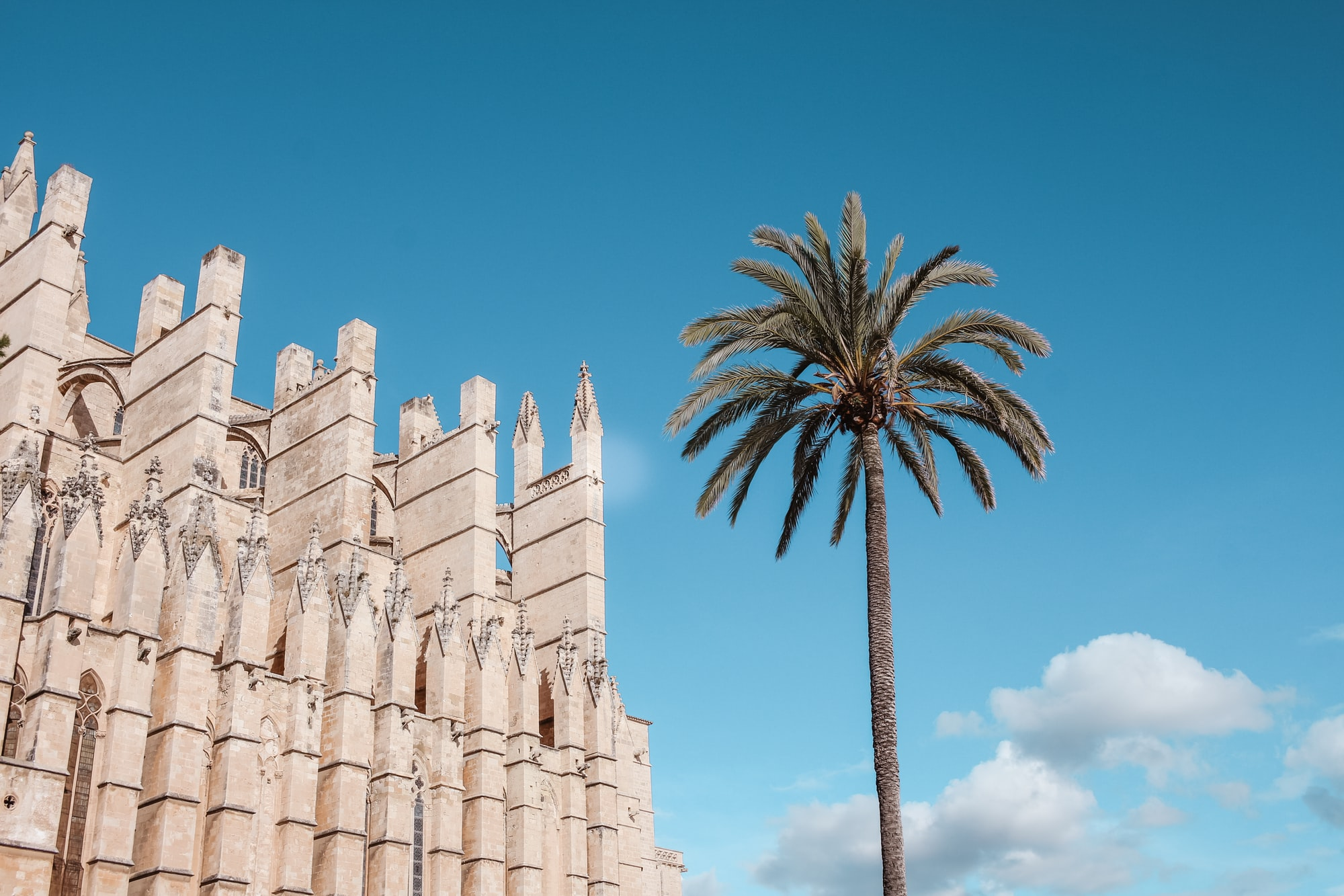 Palma de Mallorca, Catedral, viajes en tren