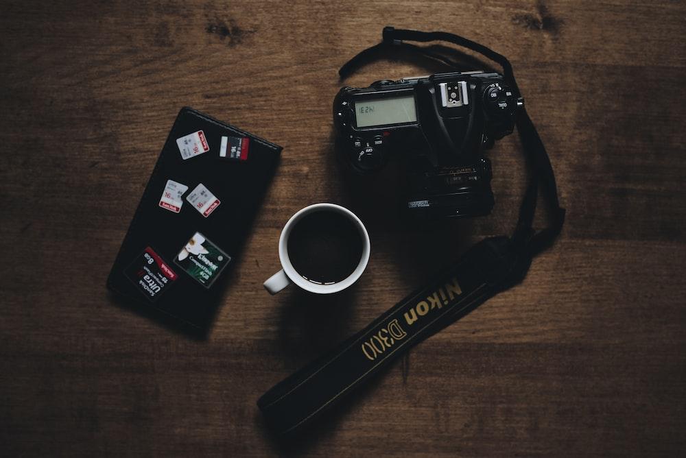 black Nikon D300