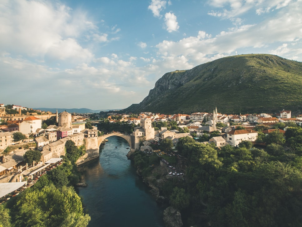 Mostar-Romantic town in Europe