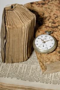 The book and the watch
