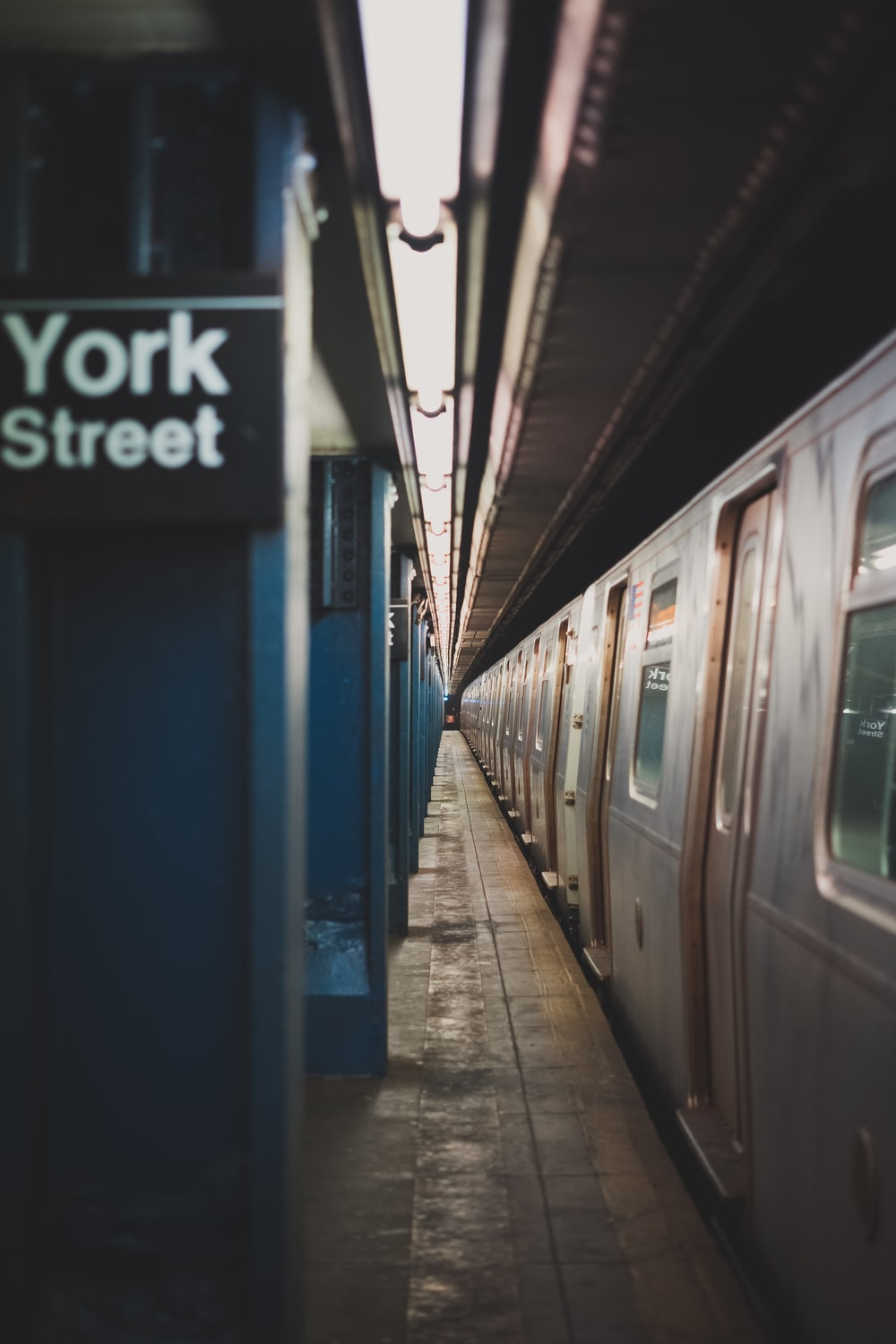 train in York Street terminal