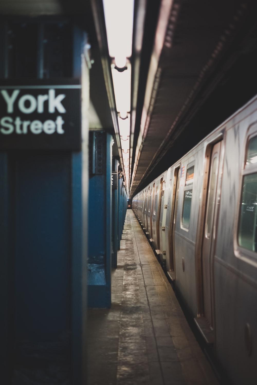 train in York Street terminal