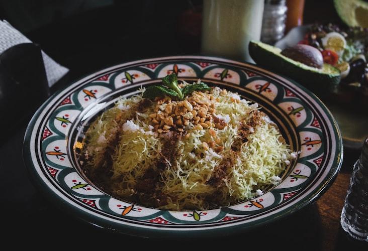 rice bowl in restaurant in Seville