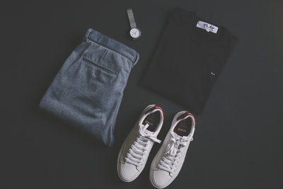 pair of white low-top sneakers clothing zoom background