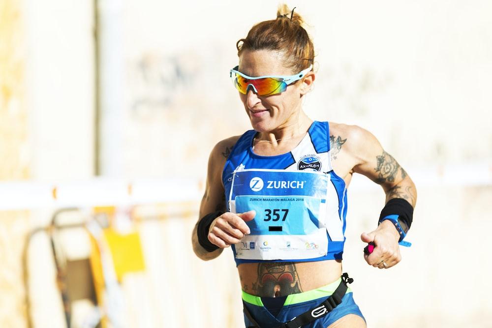 woman running during daytime