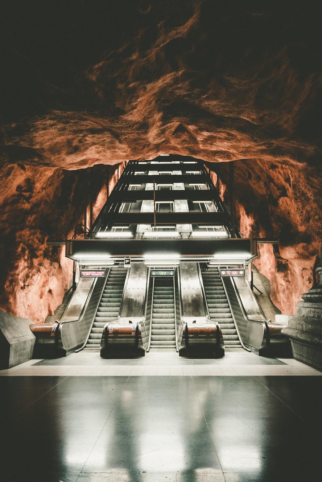 Stockholm Underground Station