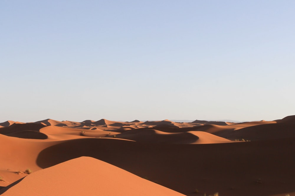 view of desert during daytime