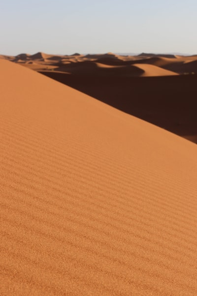 The Moroccan desert is the most beautiful place in the world that I have ever seen.