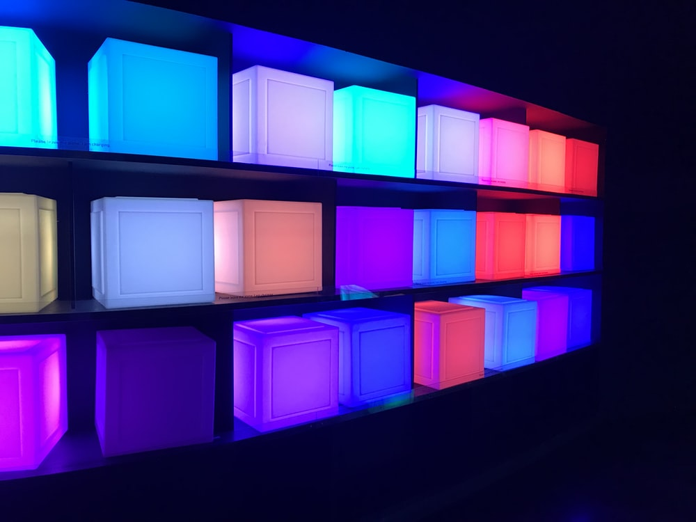 assorted-color box lot