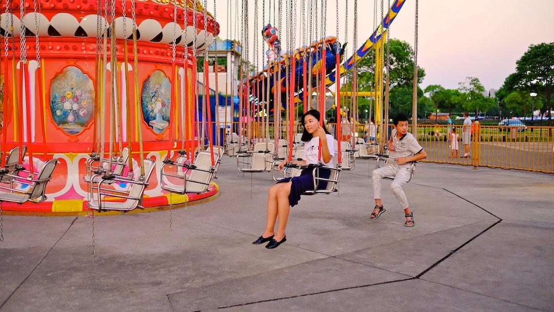 Park playground summer