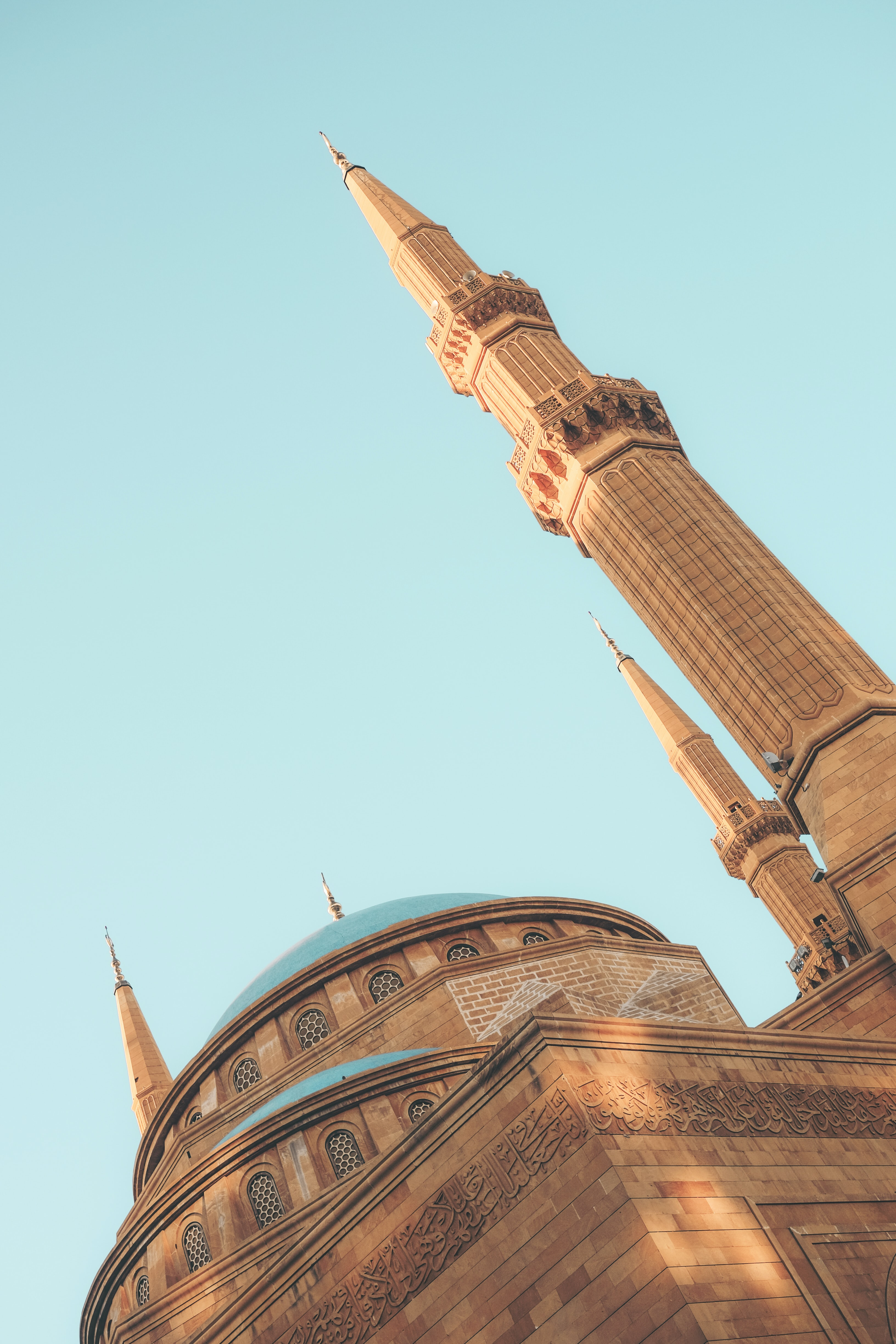 brown mosque