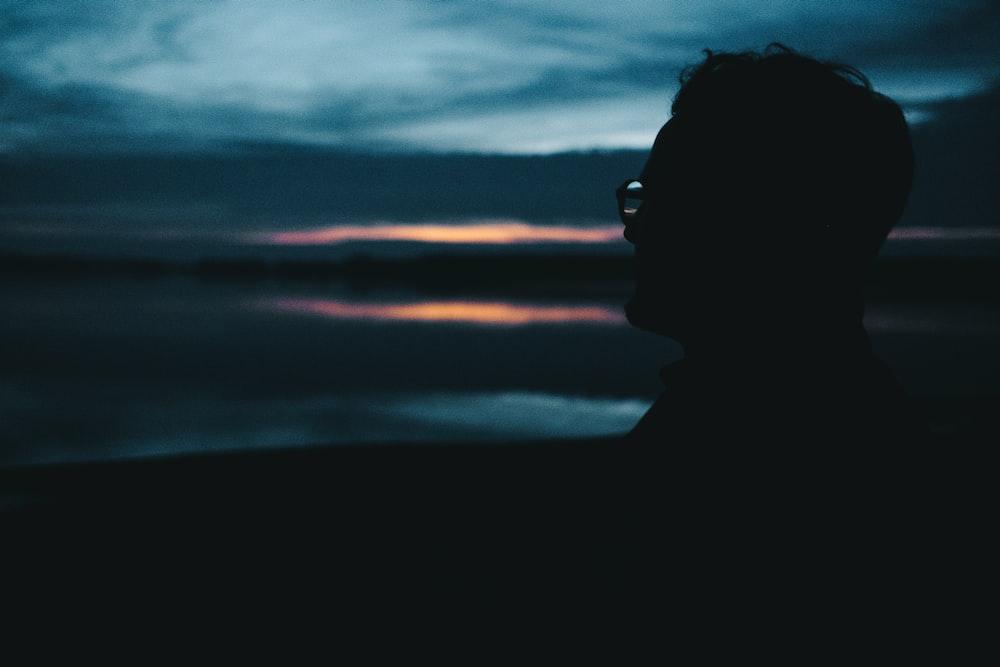 man wearing eyglasses