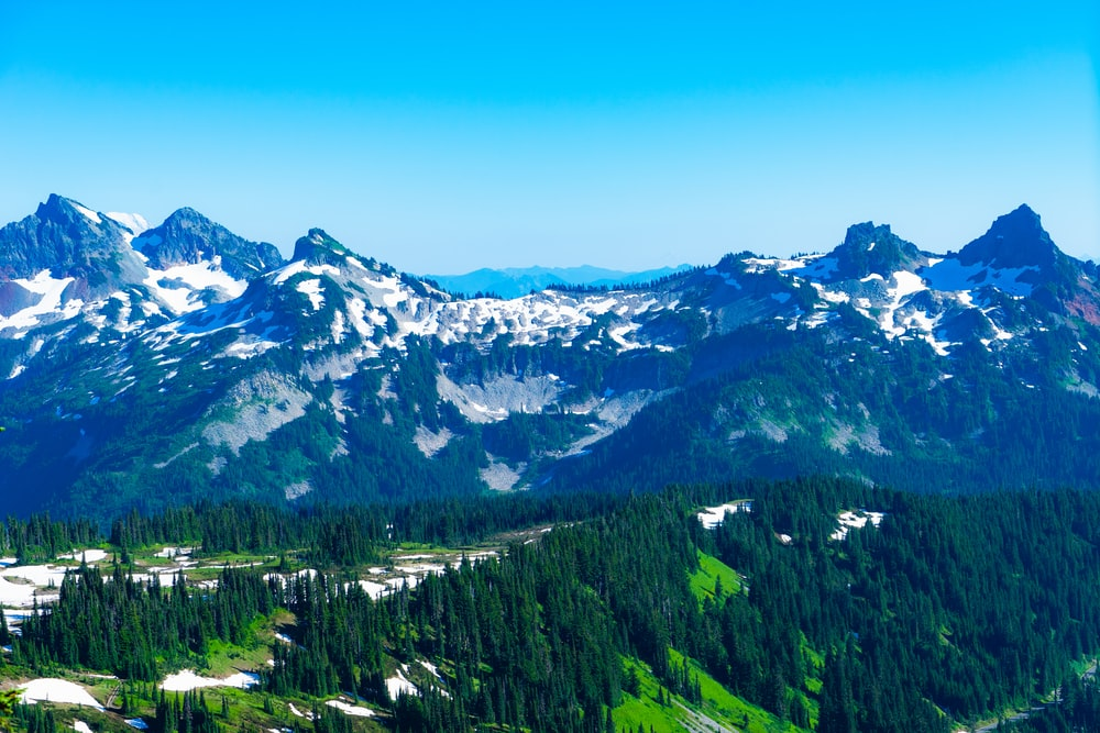 photography of green mountain range during daytime