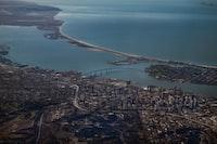 aerial view Coranado bridge San Diego 2018