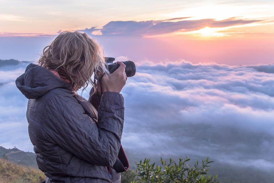 A click in Mount Batur