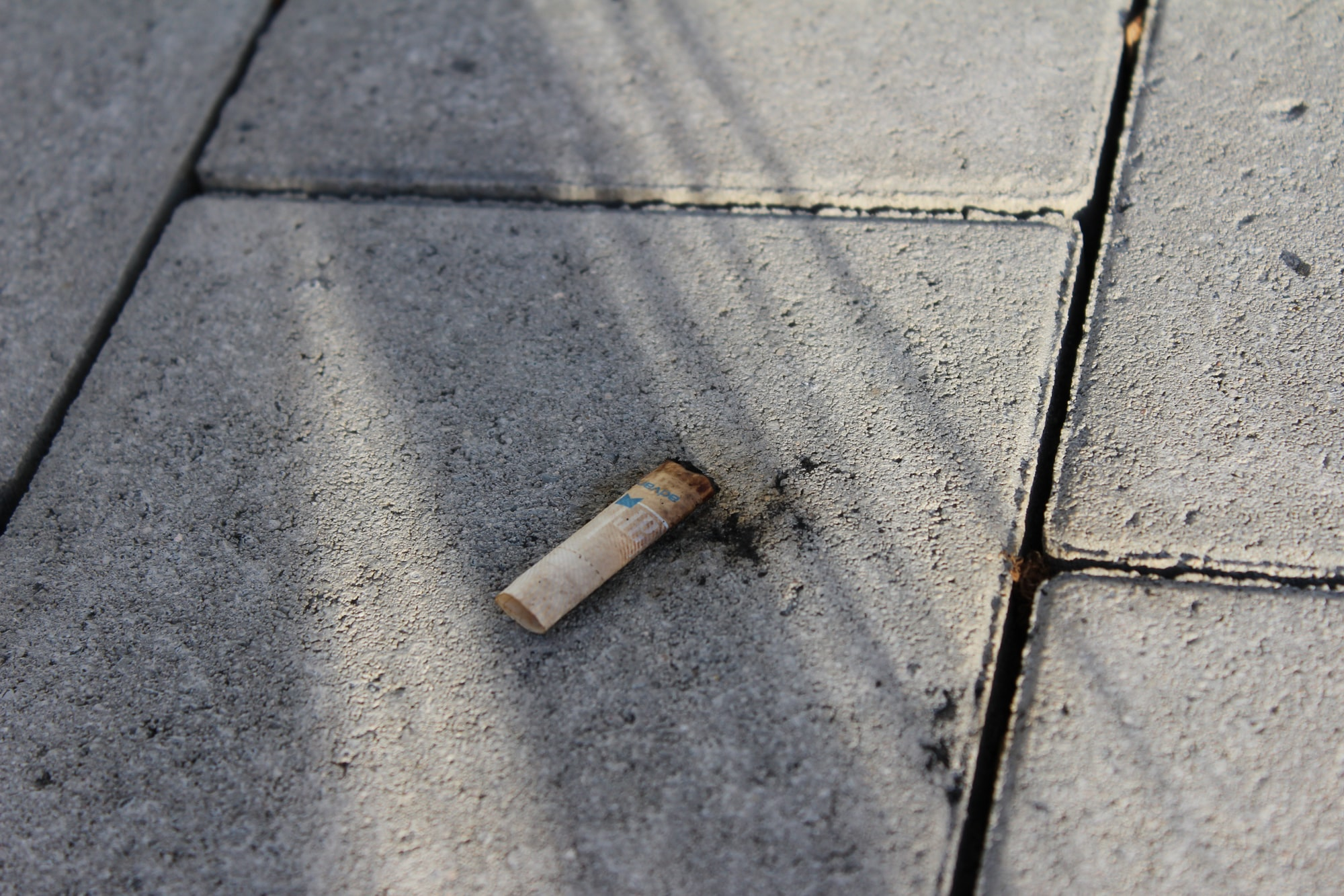 The cigarette on the roof