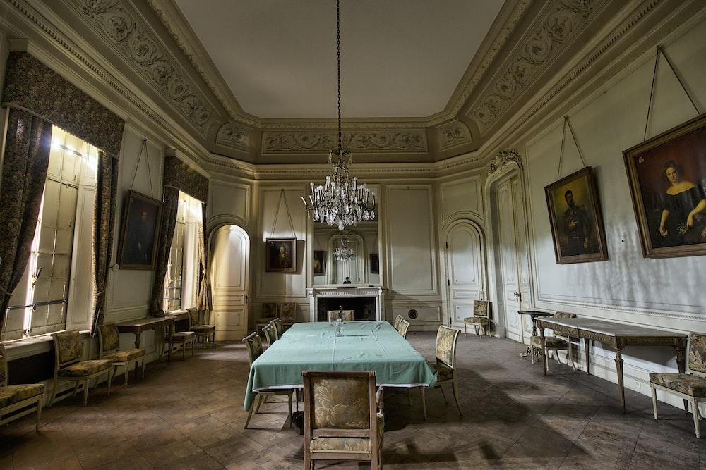 empty room near door