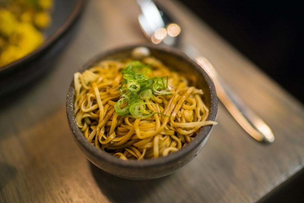 pasta dish in bowl